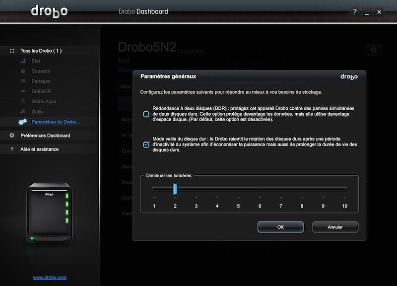redondance Disque - NAS - Test du Drobo 5N2