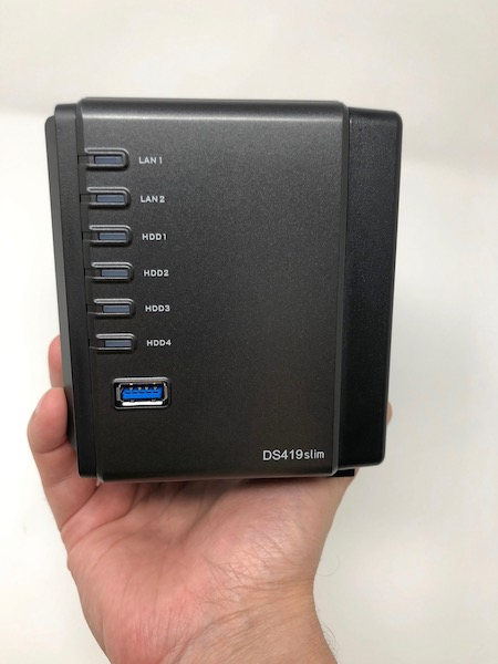 DS419slim - Test NAS - Synology DS419slim