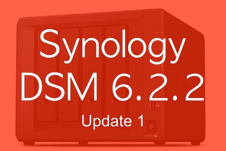DSM 622 1 770x513 - NAS - Synology DSM  6.2.2 update 1