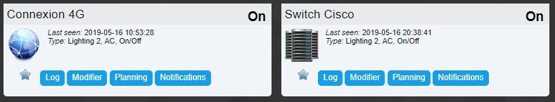 Domoticz ping 13 - Domoticz - Surveillez un équipement réseau (Ping)