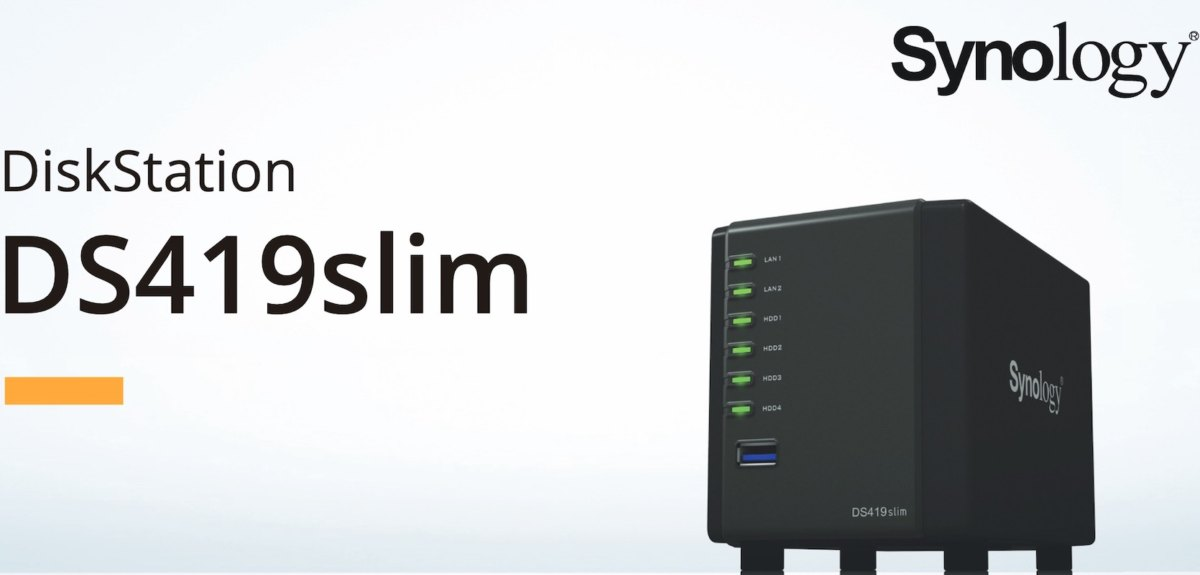 Synology DS419slim - Synology DS419slim est disponible