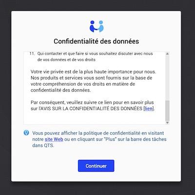 confidentialite - Prise en main d'un NAS QNAP