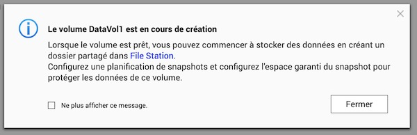 creation - Prise en main d'un NAS QNAP