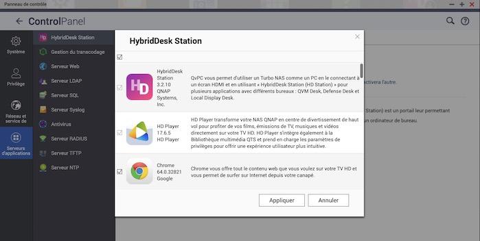 hybrid station - Prise en main d'un NAS QNAP