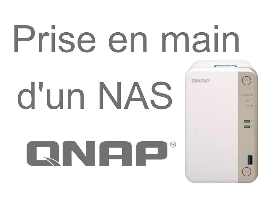 prise main qnap - Prise en main d'un NAS QNAP