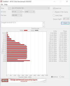 ATTO IronWolf 245x300 - Test Seagate IronWolf 16 To (disque NAS)