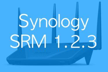 Synology SRM 123 370x247 - Synology SRM 1.2.3 est disponible pour tous