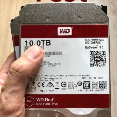 WD RED 10To 390x390 - Test WD Red 10 To (disque NAS)