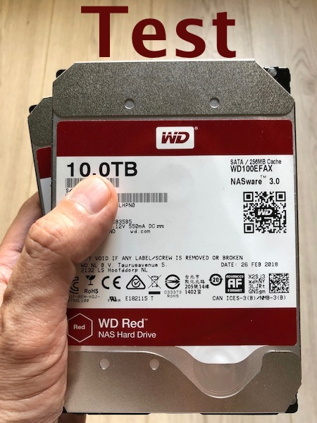 WD RED 10To - Test WD Red 10 To (disque NAS)