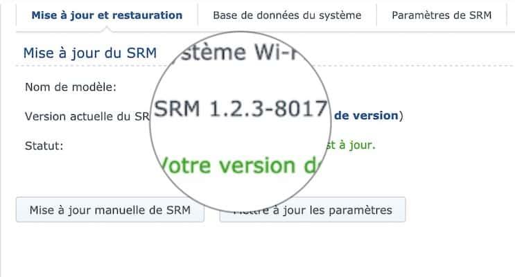 srm 123 - Synology SRM 1.2.3 est disponible pour tous