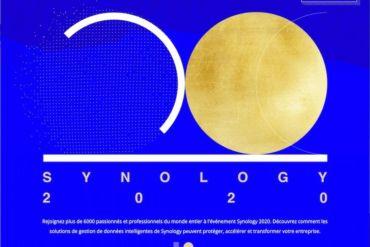 synology 2020 370x247 - Synology 2020 : réservez votre 24 septembre