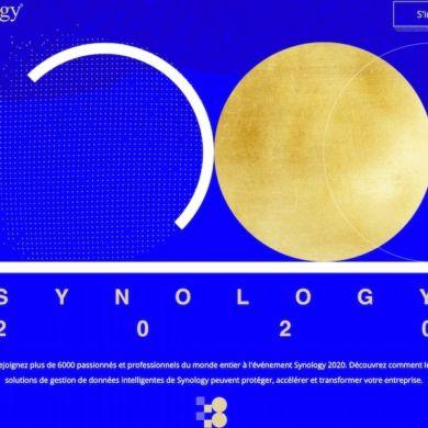 synology 2020 390x390 - Synology 2020 : réservez votre 24 septembre
