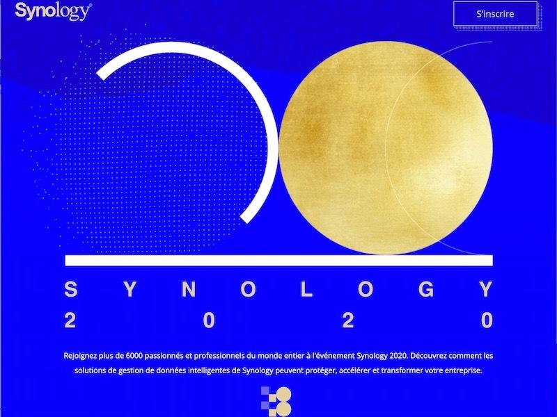 synology 2020 - Synology 2020 : réservez votre 24 septembre