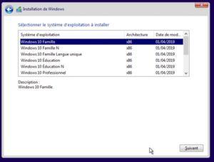 03 choix version windows10 300x228 - Virtualisation avec un NAS QNAP