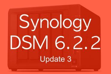 DSM 622 3 370x247 - Synology DSM 6.2.2 update 3 : Let's Encrypt, SMB, API Gmail...
