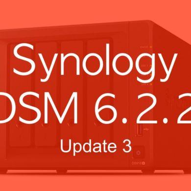 DSM 622 3 390x390 - Synology DSM 6.2.2 update 3 : Let's Encrypt, SMB, API Gmail...