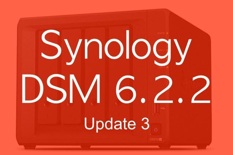 DSM 622 3 770x513 - Synology DSM 6.2.2 update 3 : Let's Encrypt, SMB, API Gmail...