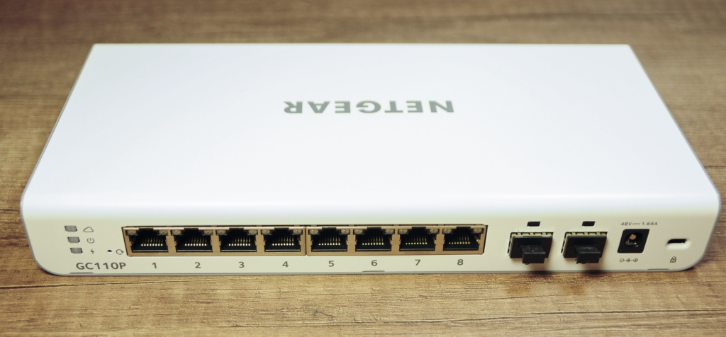 Netgear gc110p 5 - Netgear GC110P Switch manageable et Cloud