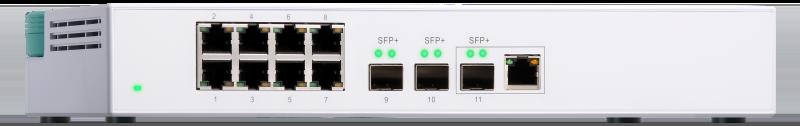 QSW 308 1C - QNAP lance 2 nouveaux switchs 10 GbE : QSW-308-1C et QSW-308S