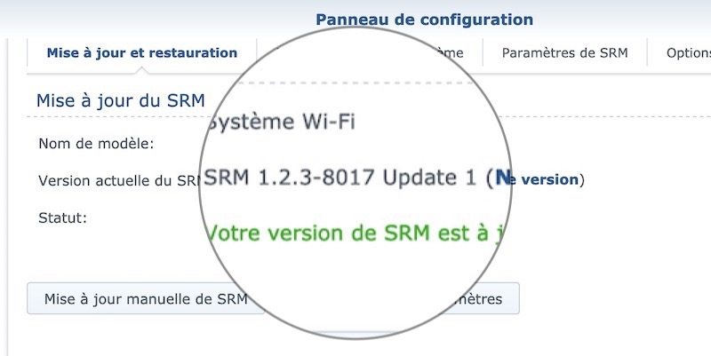 SMR 123 8017 update1 - [Brève] Synology met à disposition SRM 1.2.3 update 1