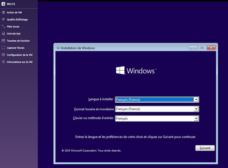 console installation windows10 - Virtualisation avec un NAS QNAP