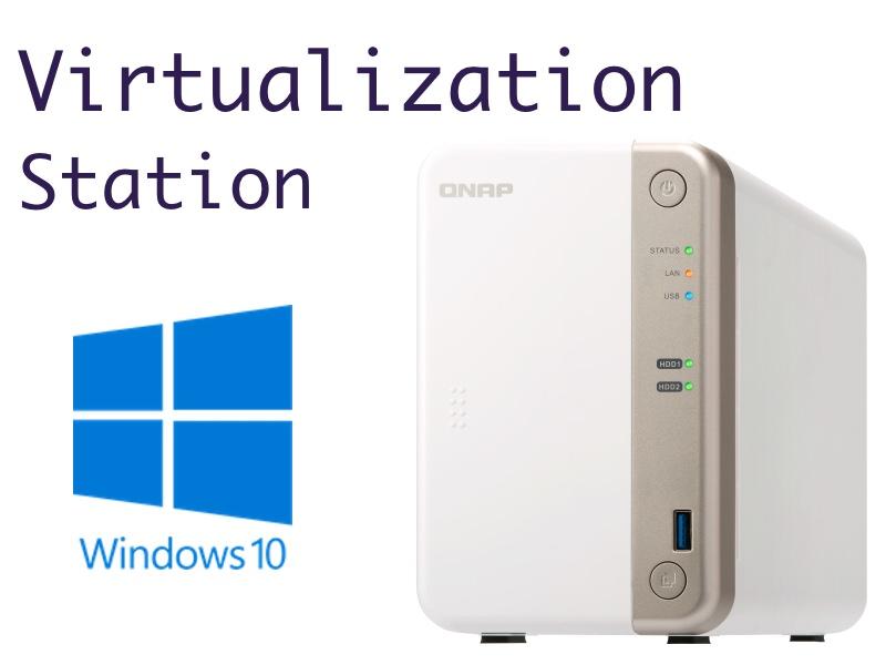 qnap virtualization - Virtualisation avec un NAS QNAP