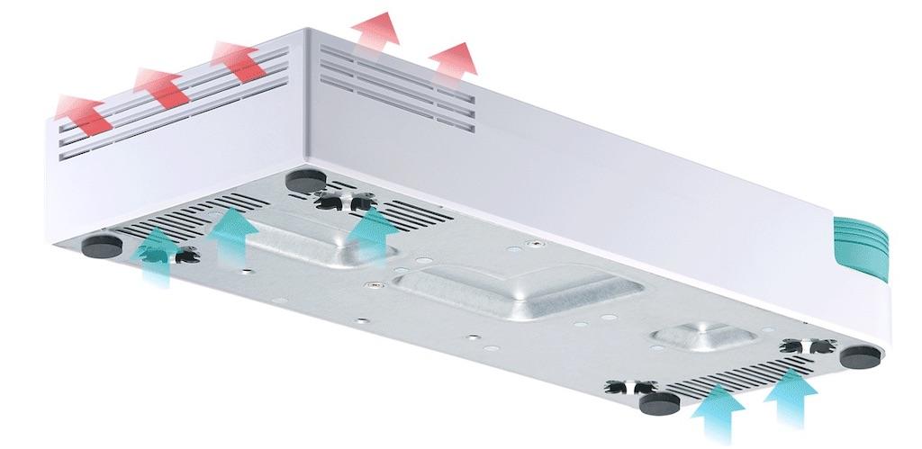 qsw 308 fanless - QNAP lance 2 nouveaux switchs 10 GbE : QSW-308-1C et QSW-308S