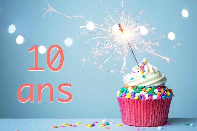 10 ans - Cachem : 10 ans…