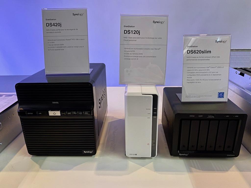DS420j DS120j DS620slim - Synology 2020 : DSM 7.0, Hybrid Share, Active Insight, Photos... et des nouveaux NAS