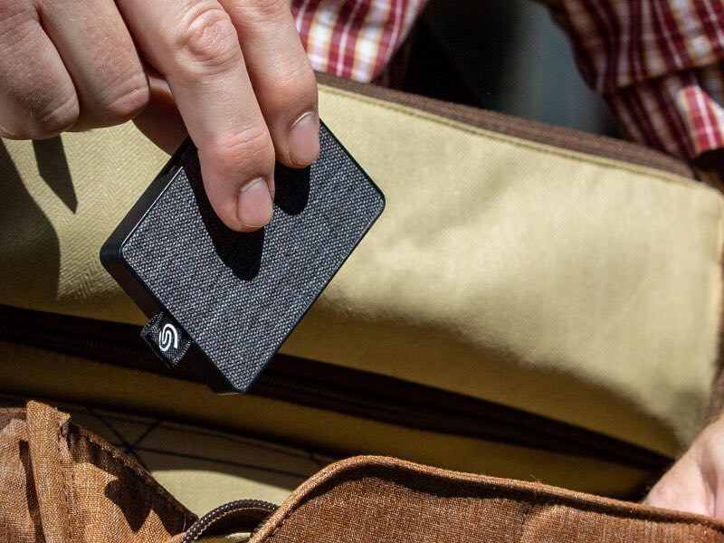 One Touch SSD - Seagate annonce les disques One Touch SSD 500Go et 1To !