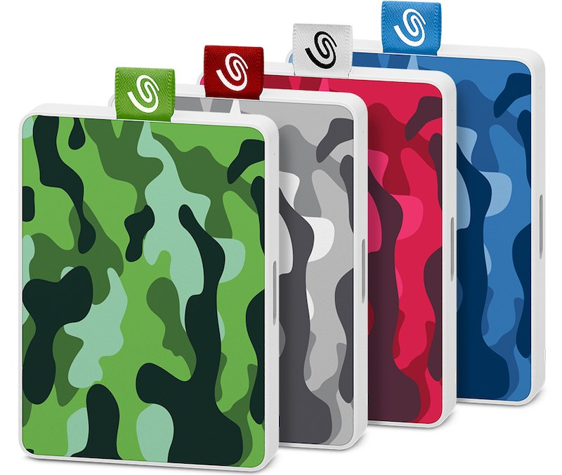 One Touch SSD SE - Seagate annonce les disques One Touch SSD 500Go et 1To !