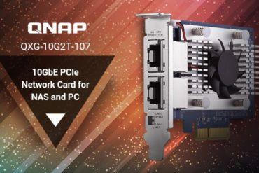 QNAP QXG 10G2T 370x247 - QNAP QXG-10G2T-107, la nouvelle carte réseau double ports 10 Gbit/s