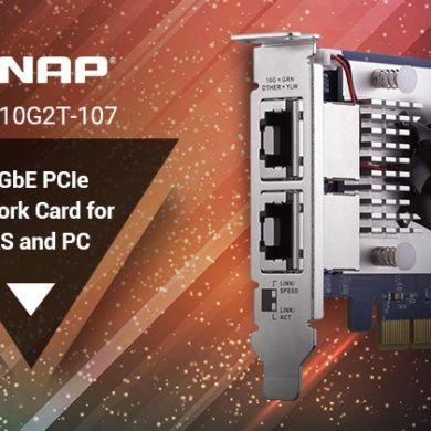 QNAP QXG 10G2T 390x390 - QNAP QXG-10G2T-107, la nouvelle carte réseau double ports 10 Gbit/s