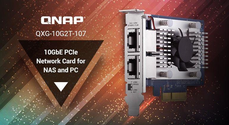QNAP QXG 10G2T 770x420 - QNAP QXG-10G2T-107, la nouvelle carte réseau double ports 10 Gbit/s