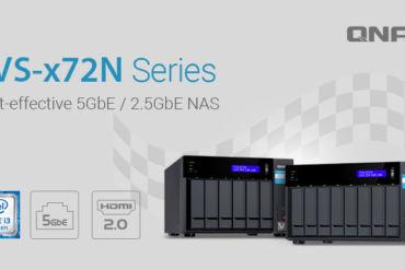 QNAP TVS x72N 370x247 - QNAP lance 2 nouveaux NAS : TVS-672N et TVS-872N
