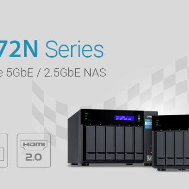 QNAP TVS x72N 390x390 - QNAP lance 2 nouveaux NAS : TVS-672N et TVS-872N