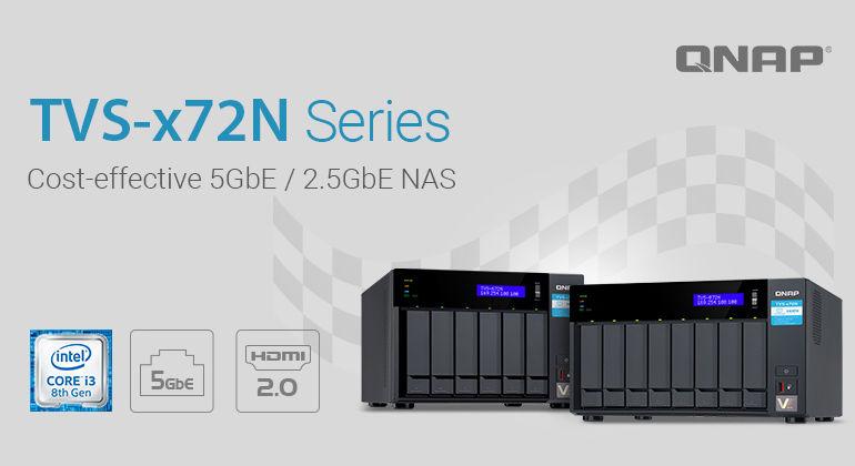 QNAP TVS x72N 770x420 - QNAP lance 2 nouveaux NAS : TVS-672N et TVS-872N