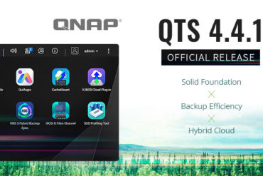 QTS 441 370x247 - NAS - QNAP QTS 4.4.1 est maintenant officiellement disponible