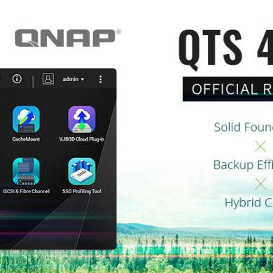 QTS 441 390x390 - NAS - QNAP QTS 4.4.1 est maintenant officiellement disponible