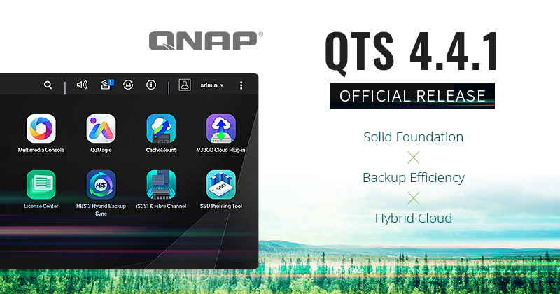 QTS 441 - NAS - QNAP QTS 4.4.1 est maintenant officiellement disponible