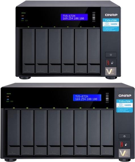 TVS x72N - QNAP lance 2 nouveaux NAS : TVS-672N et TVS-872N