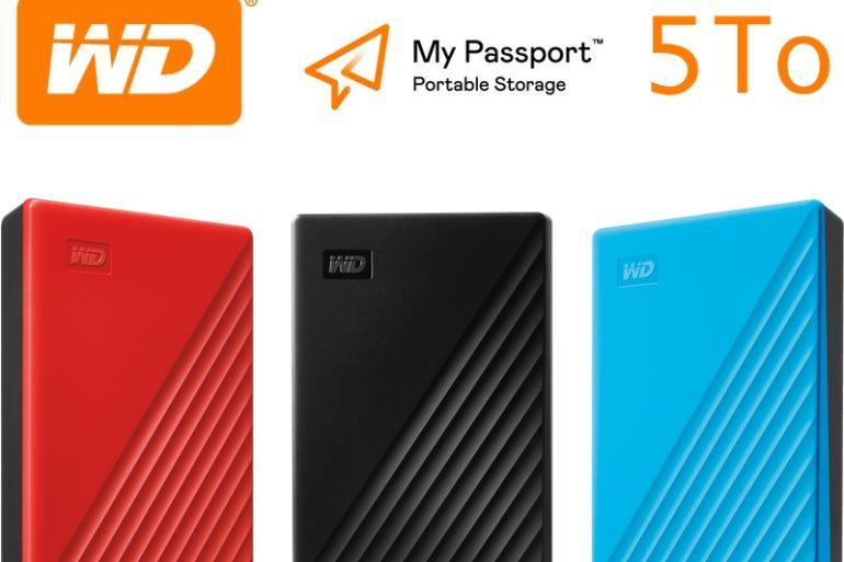 WD my passport 5TB 770x513 - Western Digital présente le nouveau My Passport avec 5 To