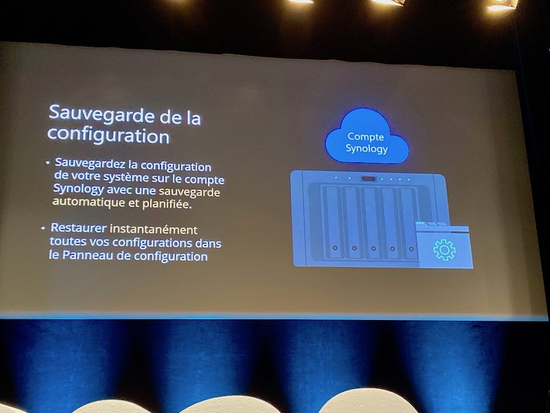 configuration nas compte synology