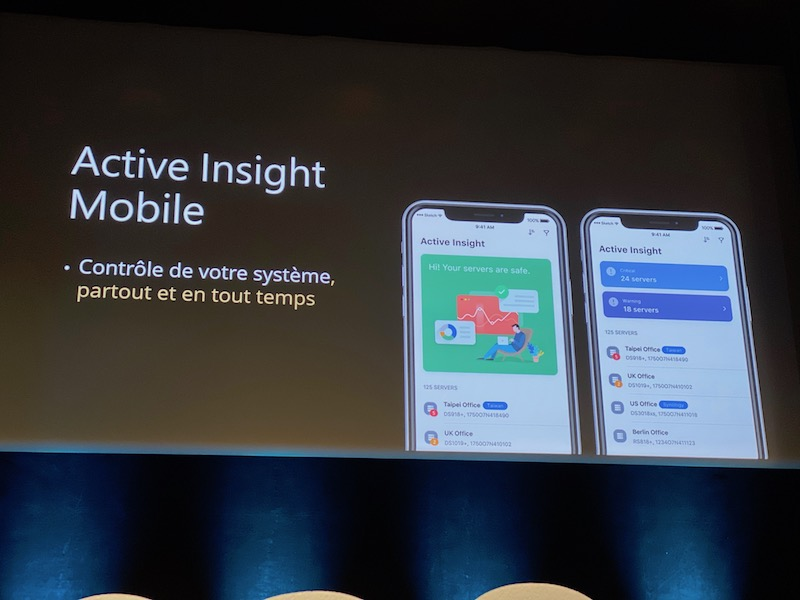 active insight mobile - Synology 2020 : DSM 7.0, Hybrid Share, Active Insight, Photos... et des nouveaux NAS