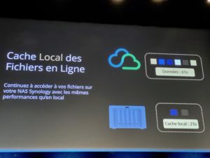 cache local Hybrid share 300x225 - Synology 2020 : DSM 7.0, Hybrid Share, Active Insight, Photos... et des nouveaux NAS