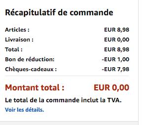 moins 1 euro