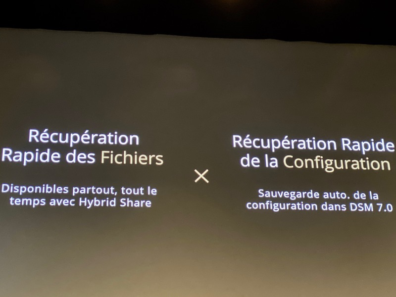 recuperation hybrid share - Synology 2020 : DSM 7.0, Hybrid Share, Active Insight, Photos... et des nouveaux NAS