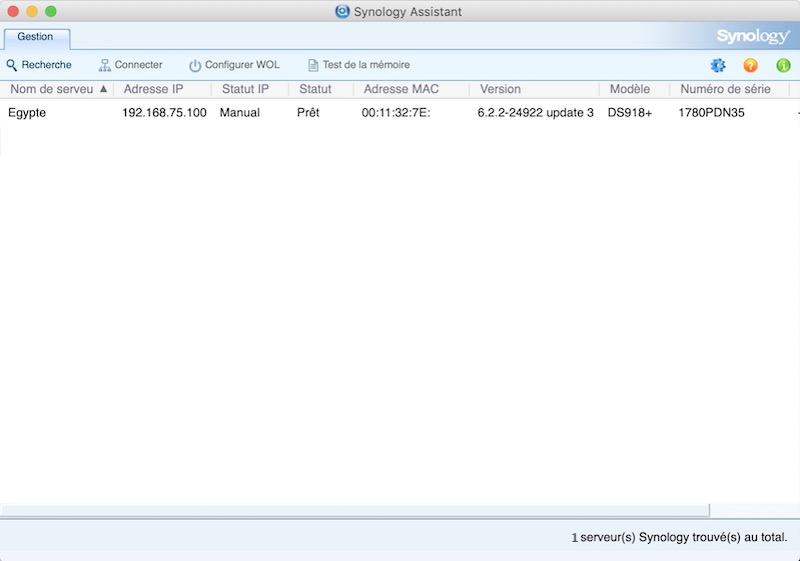 synology assistant - Retrouver son NAS Synology (3 méthodes détaillées)
