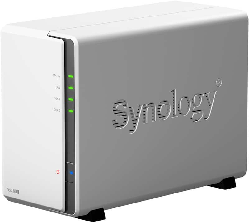 synology DS218j - NAS - TOP 5 des meilleures ventes