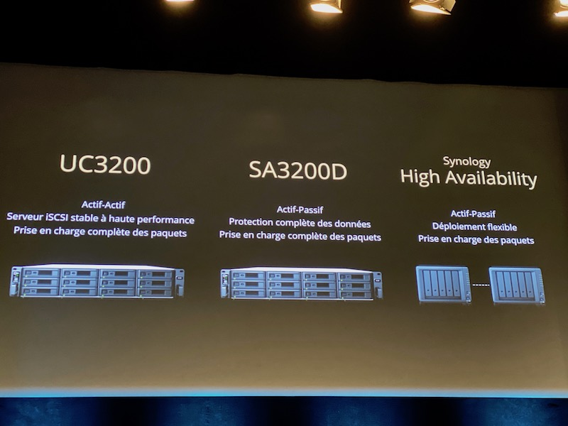 uc3200 SA3200D - Synology 2020 : DSM 7.0, Hybrid Share, Active Insight, Photos... et des nouveaux NAS